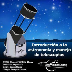 Curso iniciación a la astronomía y al manejo de telescopios