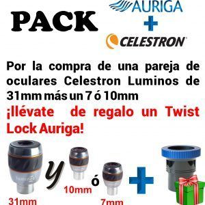 PACK OCULARES LUMINOS