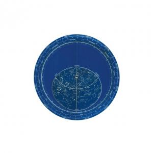 Planisferio luminiscente 29x29cm