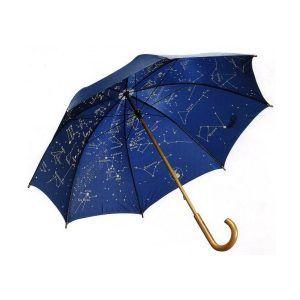 Paraguas planisferio adulto luminiscente