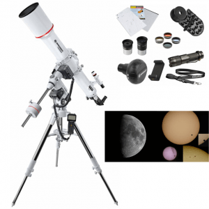 Telescopio BRESSER MESSIER AR-102/1000 EXOS-2 GOTO PACK