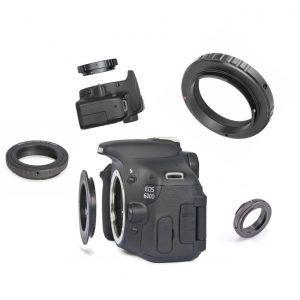 Guía para elegir anilla T2 para conexión a cámara