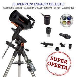 superpack celestron vx 6 accesorios