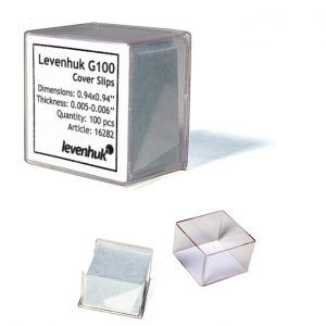 Cubreobjetos Levenhuk G100