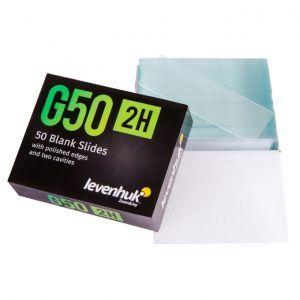 Portaobjetos vacíos Levenhuk G50