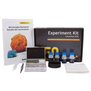 Kit de experimentos Levenhuk K50